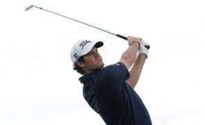Golfista Melo Gouveia em 17.º antes da última volta do Challenge da Suíça
