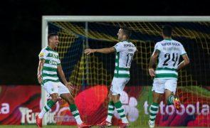 Sporting vence em Arouca e junta-se ao FC Porto na pressão ao Benfica