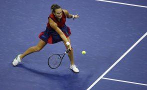 Covid-19: Tenista Aryna Sabalenka, segunda do mundo, falha Indian Wells devido a infeção
