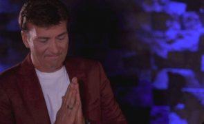 Tony Carreira Jornalista da TVI deixa cantor sem palavras depois de ler texto arrepiante