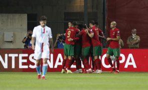 Portugal goleia Luxemburgo por 5-0 e continua na rota do Mundial2022