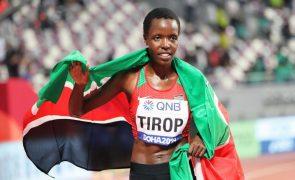 Atleta queniana Agnes Tirop encontrada morta à facada em casa