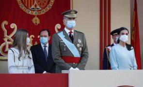 Infanta Sofia Arrisca e rouba atenções com minivestido no primeiro ato oficial sem a irmã