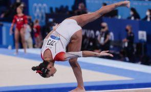Filipa Martins espreita final do concurso completo nos Mundiais de ginástica