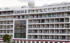 Primeiro navio de cruzeiro em 19 meses chegou hoje em Cabo Verde com turistas