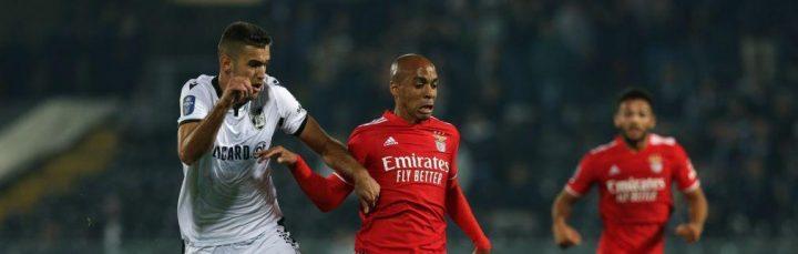 Benfica empata em Guimarães e fica em boa posição de seguir na Taça da Liga